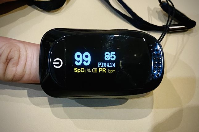 IMDK Oximetr Bluetooth Пульсоксиметр оксиметр на палец