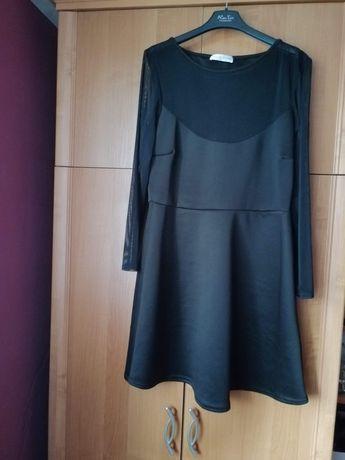 Czarna sukienka rozmiar 44 stan bardzo dobry