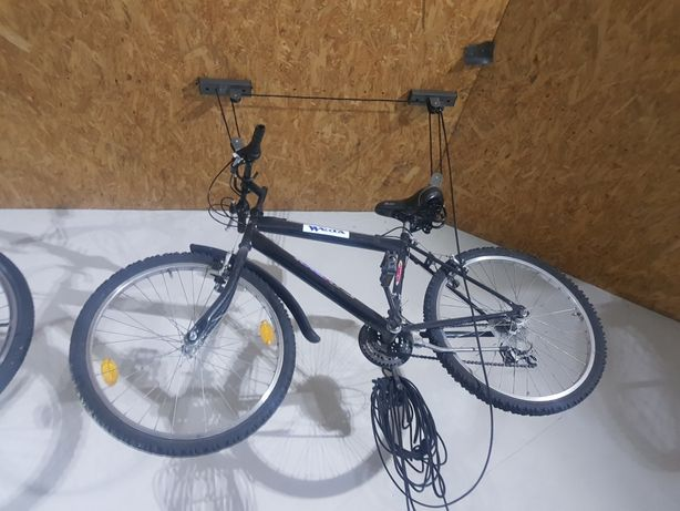 rower górski czarny