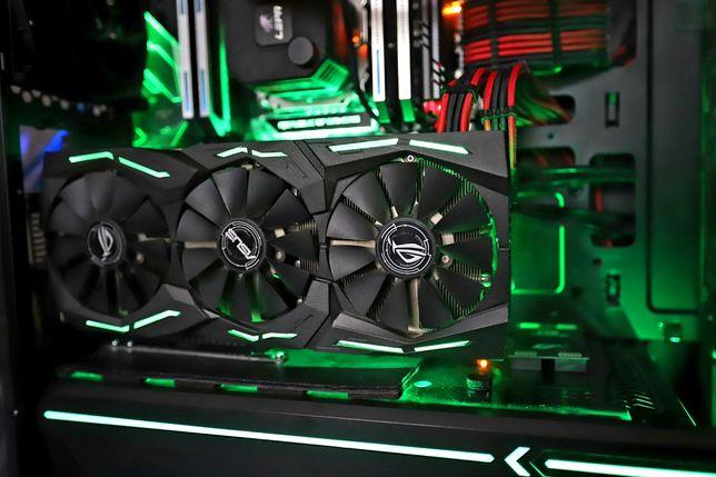 Видеокарта Asus Strix RX480 8Gb Gaming (AMD Radeon)