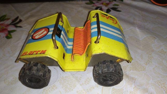 Железная машинка гоночная СССР