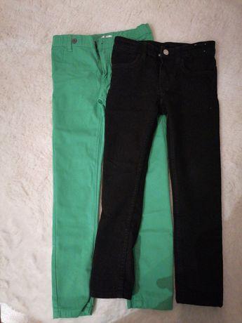 Spodnie h&m i pepco 122