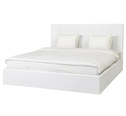 Łóżko z pojemnikiem 180x200 Ikea GVARV