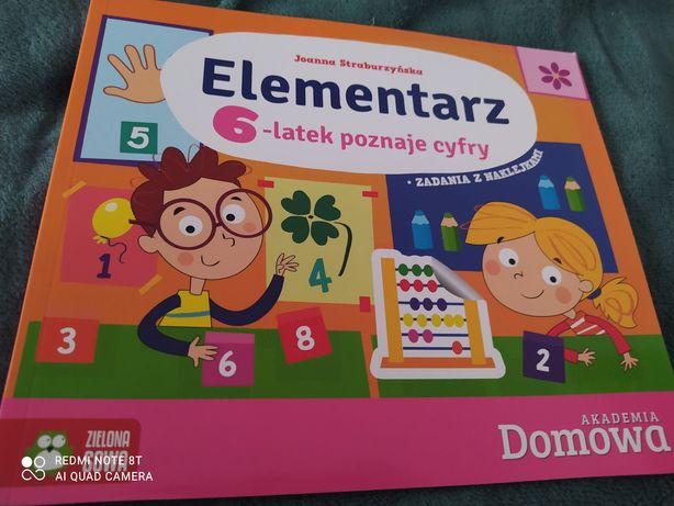 Książeczka Elementarz poznaje cyfry