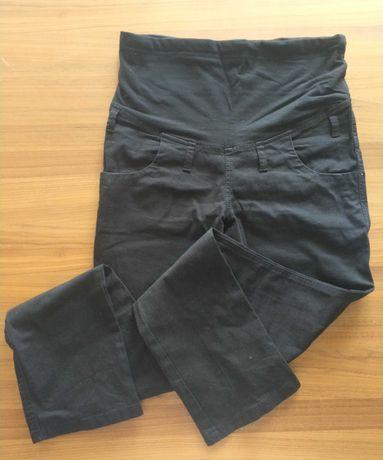 Spodnie ciążowe czarne L 40