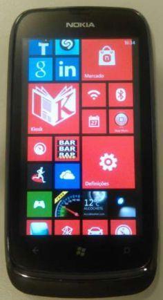 Nokia Lumia 610 + Bateria adicional + capa + película