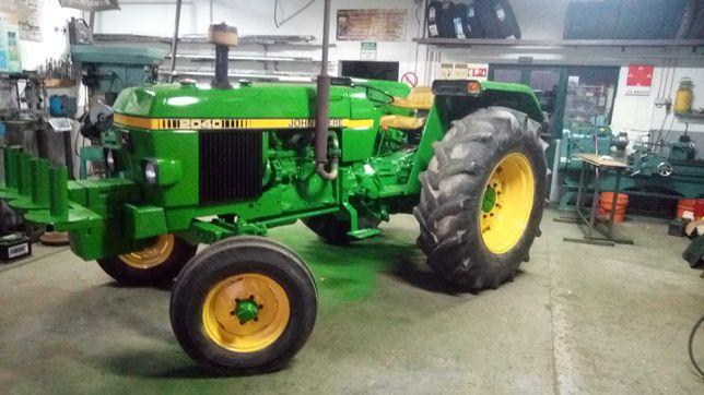 Pintura de máquinas agrícolas