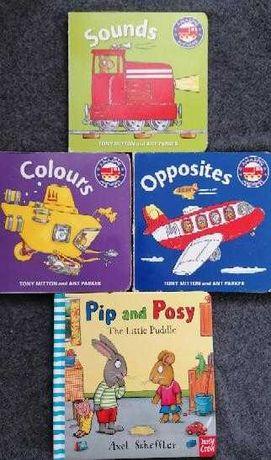 Książeczki do nauki języka angielskiego dla najmłodszych