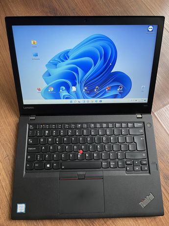 "Laptop Lenovo ThinkPad T470 i5-6200U/16GB/256SSD/14,1""FHD/FP/SC/WIN11"