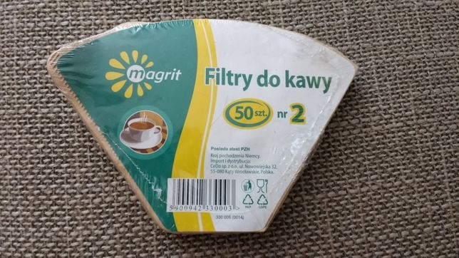 Filtry do kawy 50szt MAGRIT