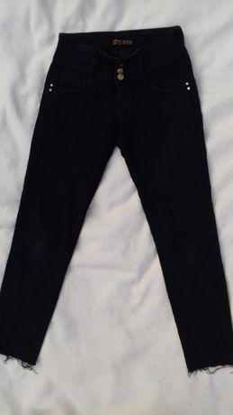 Spodnie rurki, jeansy czarne