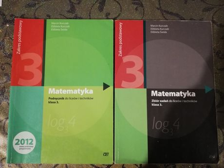 Podręcznik do matematyki liceum/technikum klasa 3
