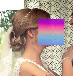 Biżuteria ślubna bransoletka, kolczyki, wianek gałązka