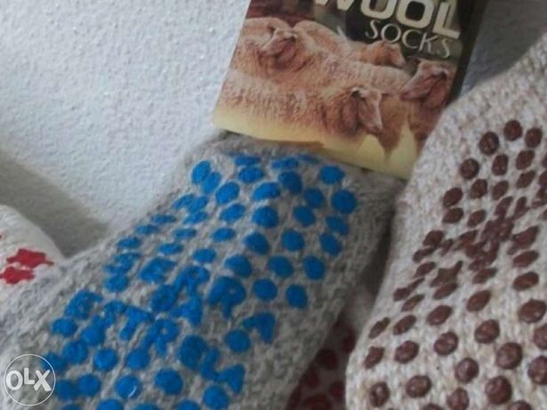 Meias de Lã para andar descalço Criança e Adulto