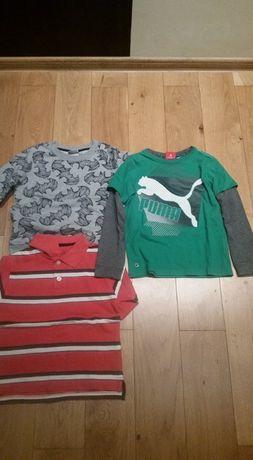 Bluzki dla chłopca od 6-9 lat