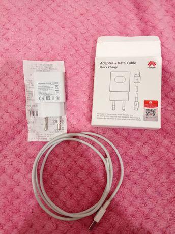 Зарядний пристрій Huawei, USB кабель+блок