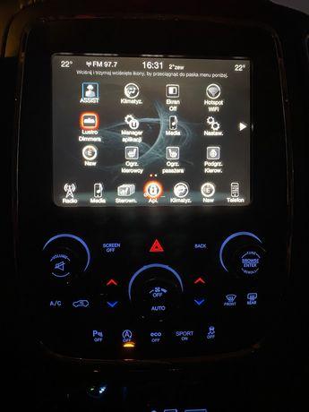 Dodge Durango Radio- nawigacja  z panelem w PL