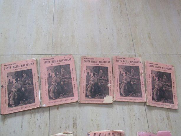 Brochuras Santa Maria Magadalena de Garibaldi Falcão, 5 tomos