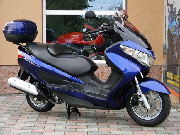 Ładne SUZUKI UH 200 Burgman 2007 FI z Niemiec , Kufer RATY DOSTAWA !!