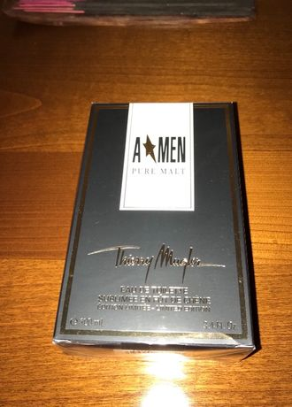 A*Men Pure Malt Thierry Mugler первый выпуск, новый в слюде VERY RARE