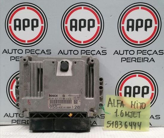 Centralina Alfa Romeu Mito 1.6 MJET referência 51836444.