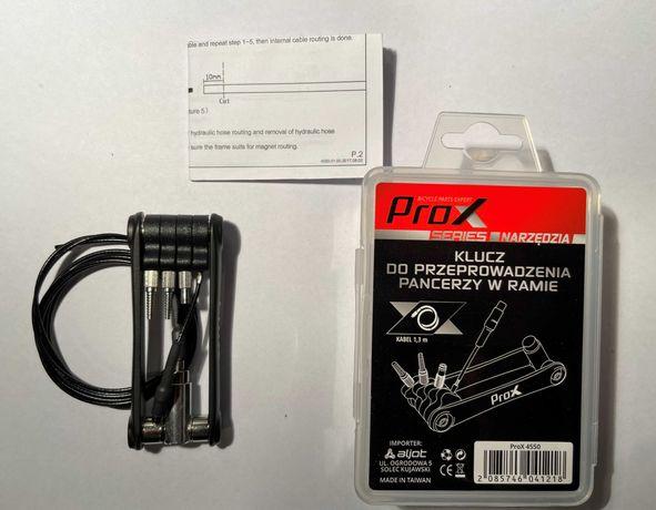 Klucz do przeciągania pancerza przez ramę rowerową PROX