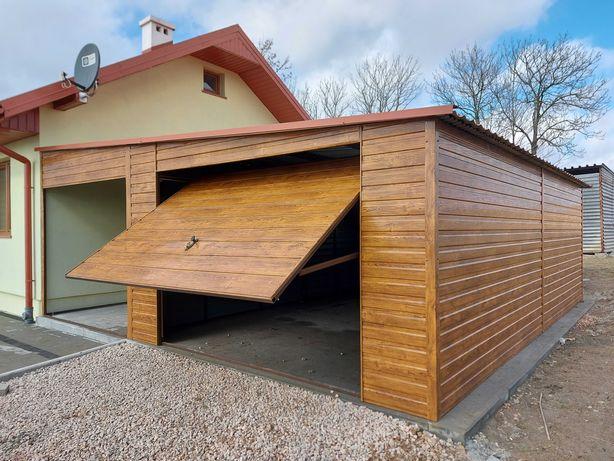 Garaż 4x6,90+2,5m wiata ZŁOTY DĄB! Garaż dostosowany do Twoich potrzeb