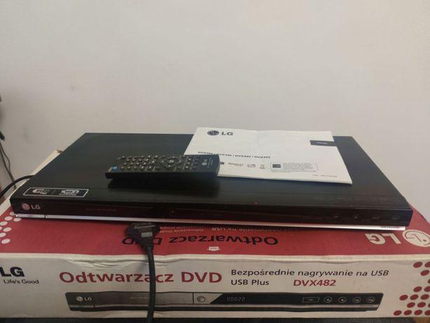 Odwarzacz DVD LG DVX482 + pilot