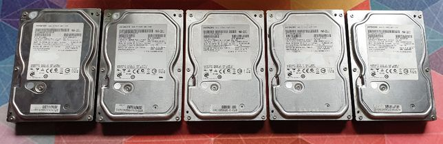 5x Dysk Hitachi 500Gb Sata I II III 3,5 cala Dyski