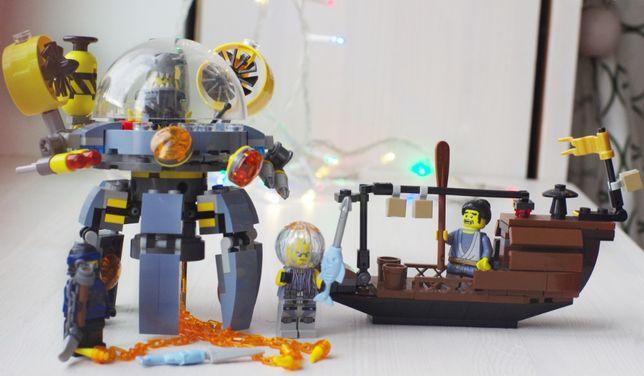 """Конструктор Lego """"Летающая подводная лодка"""" 70610, серия Ninjago,"""