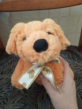 Мягкая плюшевая игрушка собачка собака щенок песик