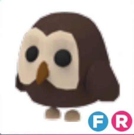 Owl adopt me /коричневая сова адопт ми