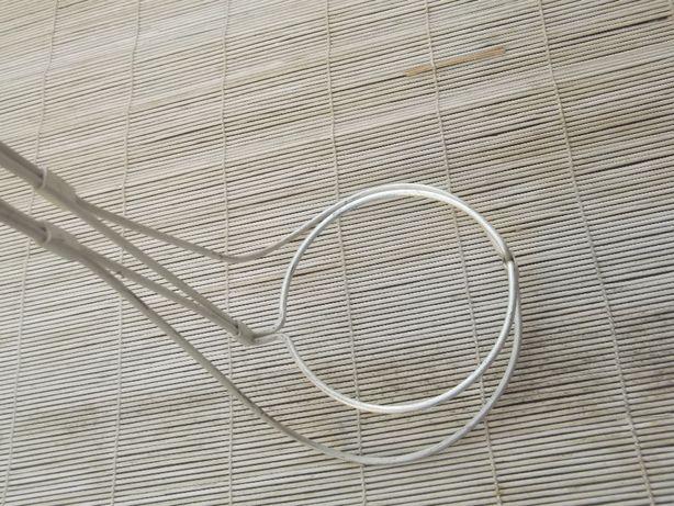 Kwietnik aluminiowy, wiszący PRL