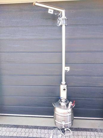 Destylator Aabratek elektryczny bufor wziernik szeroki wlew kolumna ,,