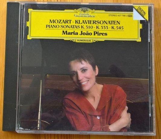 Mozart - Três sonatas piano CD (Mª J. Pires)