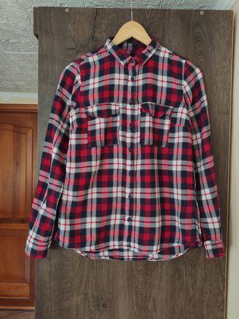 Koszula w kratkę Cropp