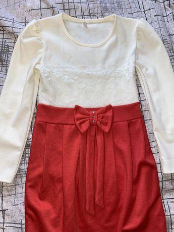 Праздничное платье для девочки 4-5 лет