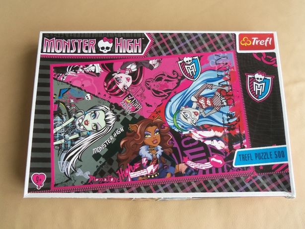 Puzzle Monster HIGH TREFL
