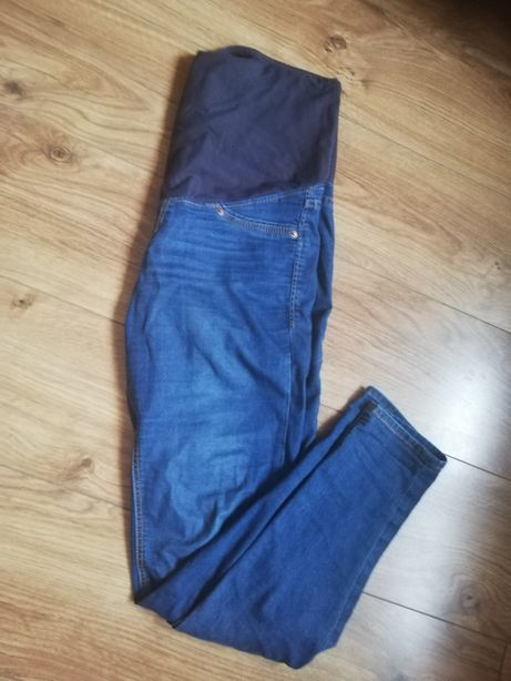 Jeansy ciążowe H&M