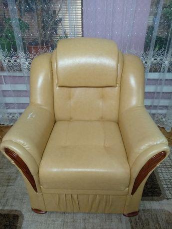 Диван и два кресла под перетяжку