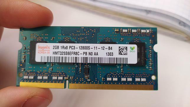 Оперативная память, 2Gb, DDR3-1600MHz. Hynix SODIMM