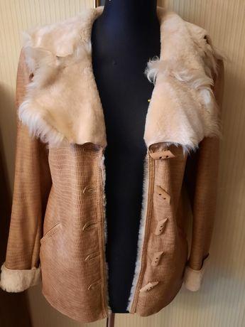 Куртка из натуральной кожи, дубленка.
