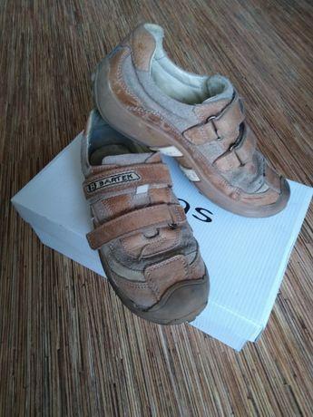 BARTEK buty dla chłopca dziecięce skóra rozmiar 33 wkładka 21 cm NOWE
