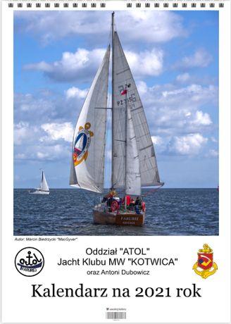 Żeglarski kalendarz na 2021 r. - Wesprzyj Organizację