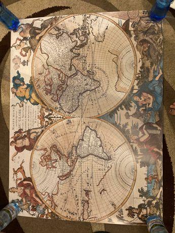 Plakat ziemia 120x90