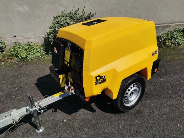 2011 Sprężarka śrubowa spalinowa KAESER M20 kompresor 2000l/min 980h!