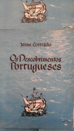 História d´Os Descobrimentos Portugueses de Jaime Cortesão-fascículos