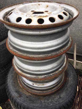 Продам диски сталеві Daewoo Lanos R13