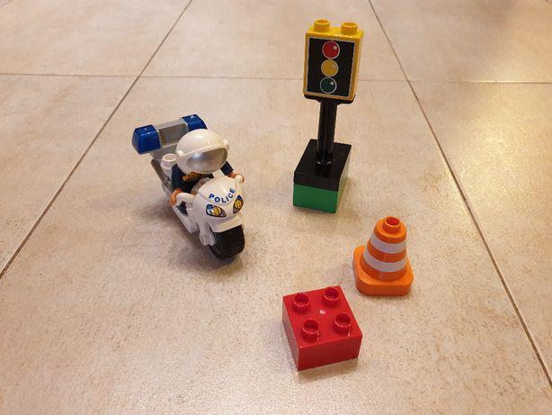 Zestaw LEGO Duplo 5679 - Motocykl Policyjny (Warszawa, Ursynów)