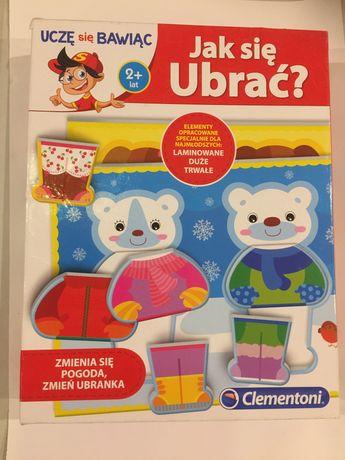 Ukłdanka jak się ubrać puzzle dla dzieci 2+